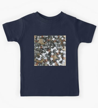 Copper and Chrome Smart Art - FredPereiraStudios.com_Page_06 Kids Tee