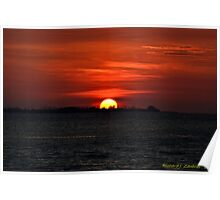 Exquisite Sunset Poster