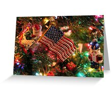 Christmas in the USA Greeting Card