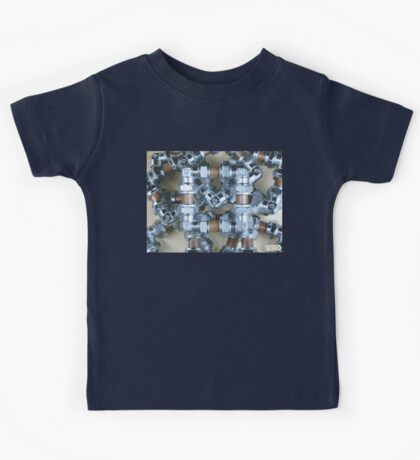 Copper and Chrome Smart Art - FredPereiraStudios.com_Page_08 Kids Tee
