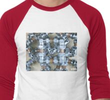 Copper and Chrome Smart Art - FredPereiraStudios.com_Page_08 Men's Baseball ¾ T-Shirt
