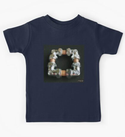 Copper and Chrome Smart Art - FredPereiraStudios.com_Page_09 Kids Tee