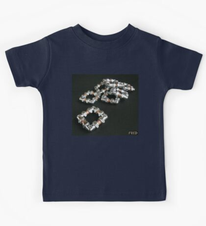 Copper and Chrome Smart Art - FredPereiraStudios.com_Page_10 Kids Tee