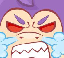 Arrgh! Furious Funky Monkey Sticker
