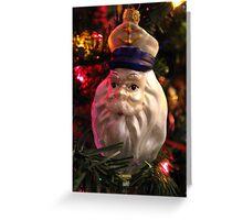 Captain Santa Greeting Card