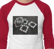 Copper and Chrome Smart Art - FredPereiraStudios.com_Page_12 Men's Baseball ¾ T-Shirt