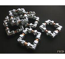Copper and Chrome Smart Art - FredPereiraStudios.com_Page_12 Photographic Print