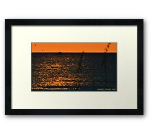 Returning Fishermen Framed Print