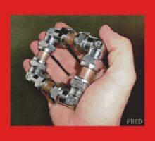 Copper and Chrome Smart Art - FredPereiraStudios.com_Page_13 One Piece - Short Sleeve