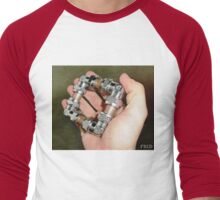 Copper and Chrome Smart Art - FredPereiraStudios.com_Page_13 Men's Baseball ¾ T-Shirt