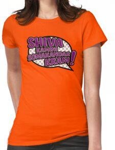 Shiva Blast Womens Fitted T-Shirt