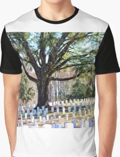 Wilmington National Cemetery Graphic T-Shirt