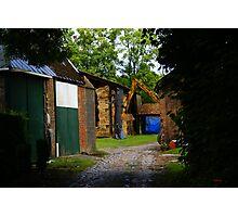 Old Farm -  Edegem - Belgium Photographic Print