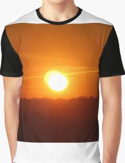 Double Sunset Glow Graphic T-Shirt
