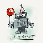party robot by Tannen Helmers