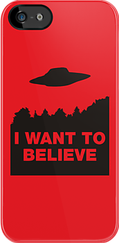 I Want to Believe by monkeybrain