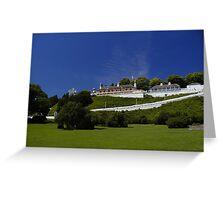 Fort Mackinac Greeting Card
