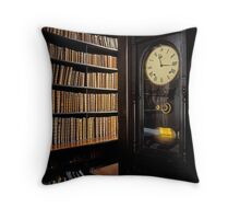 Library in Ireland Throw Pillow