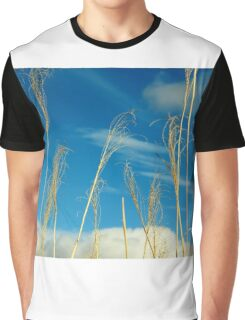 Wheat In The Sky Graphic T-Shirt