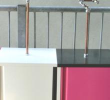 Copper and Chrome Slinki Tiki Torch - FredPereiraStudios.com_Page_06 Sticker