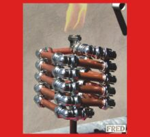 Copper and Chrome Slinki Tiki Torch - FredPereiraStudios.com_Page_12 Kids Clothes