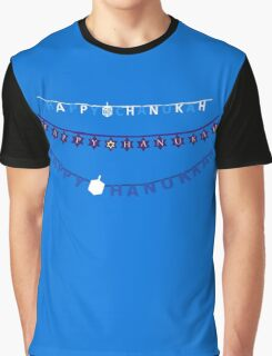 Hanukkah Sign Ugly Sweater Graphic T-Shirt