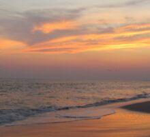 Beautiful Sky On The Beach Sticker