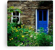Traditional Irish Cottage Canvas Print