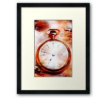 Passing Time Framed Print