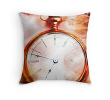 Passing Time Throw Pillow