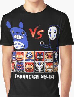 Totoro Game  Graphic T-Shirt