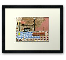 Oaxaca Spam Wall Framed Print