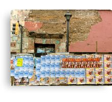 Oaxaca Spam Wall Canvas Print