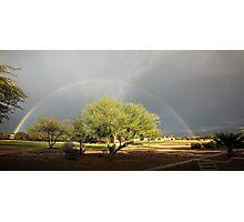 The Rain and The Rainbow Photographic Print