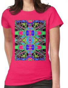 Patterns 7 - Pipe Cleaners Womens Fitted T-Shirt