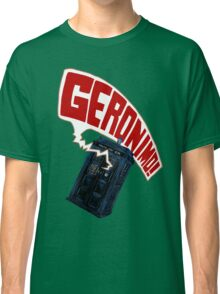 """Geronimo!"" The 11th Doctor Classic T-Shirt"