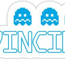 Feeling Invincible Sticker