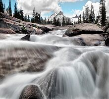 Tuolumne River and Unicorn Peak by Chris Frost Photography