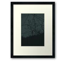 Evil Dead minimalist movie poster Framed Print