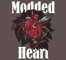 Modded Heart With Words T-Shirt by SCMowns
