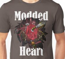 Modded Heart With Words T-Shirt Unisex T-Shirt