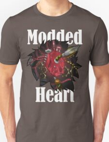 Modded Heart With Words T-Shirt T-Shirt