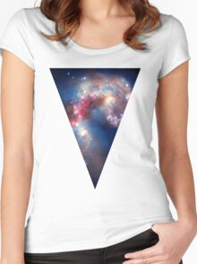 Space and Beyond 4 Women's Fitted Scoop T-Shirt