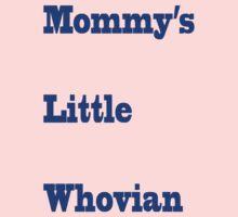 Mommy's Little Whovian Kids Tee