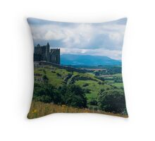 Rock of Cashel Throw Pillow
