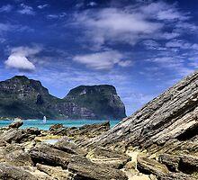Lord Howe Island NSW Australia by Bev Woodman