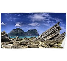 Lord Howe Island NSW Australia Poster