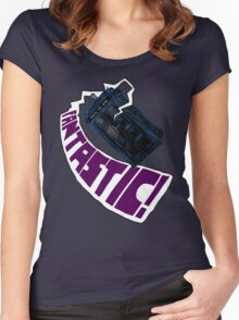 """""""Fantastic!"""" The 9th Doctor Women's Fitted Scoop T-Shirt"""