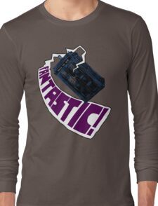 """Fantastic!"" The 9th Doctor Long Sleeve T-Shirt"