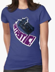 """""""Fantastic!"""" The 9th Doctor Womens Fitted T-Shirt"""
